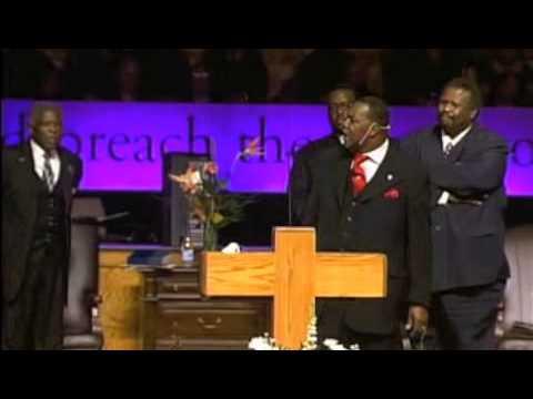 Dr. Ternae Jordan, Sr does the eulogy for his beloved father Pastor Melvin Jordan Part III