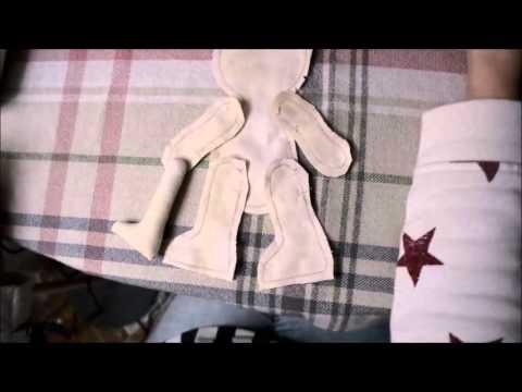 DIY: Как сшить куклу/ Кукла своими руками/ Handmade doll/ Выкройка куклы