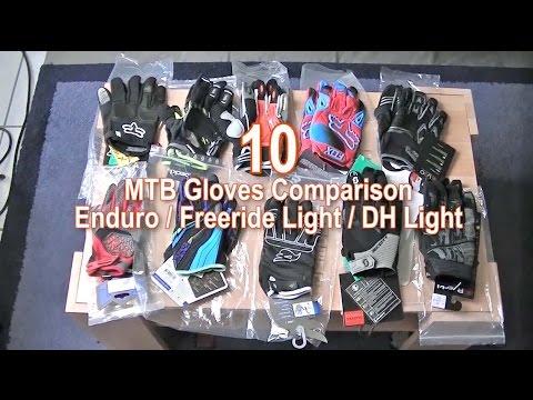 10 MTB Gloves Big Comparison Enduro, Freeride LT, Downhill LT