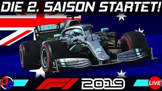 F1 2019 KARRIERE Saison 2 #1 – Start in Melbourne! | Let's Play Formel 1 Deutsch Livestream German