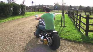 2011 Harley Davidson Rocker C With Heartlands Usa Seat Conversion