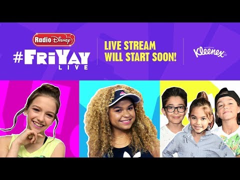#FriYAYLive with Jayden Bartels, Rachel Crow, and Stuck In The Middle (Ep 10)