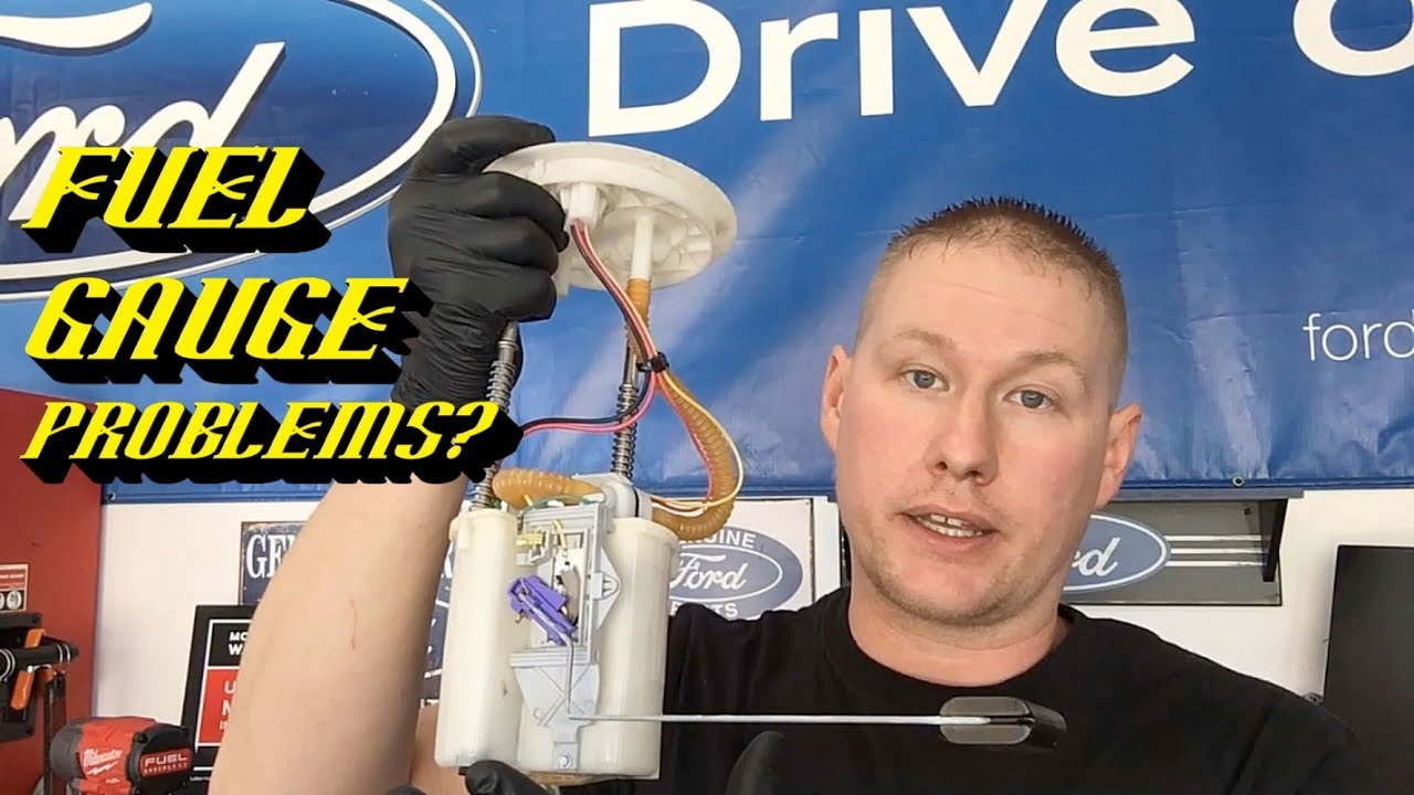 Ford Quick Tips #77: DTC P0460 P0463 Erratic Fuel Gauge Quick Fix!
