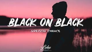 Greyson Chance black on black