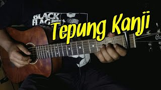 Download lagu TEPUNG KANJI (AKU RA MUNDUR) - Syahiba Saufa Ft. James AP | Guitar Fingerstyle