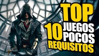 TOP 10 JUEGOS POCOS REQUISITOS PARA PC 2016 + LINKS DE DESCARGA