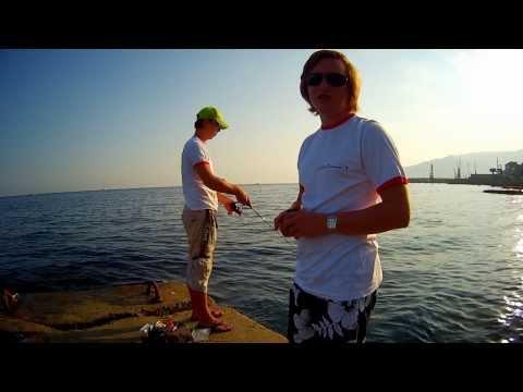 Вечерний джиг или рокфишинг в Ялте (Rockfishing In Yalta).