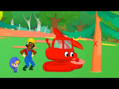 morphle-the-logging-machine-+-more-adventures-|-cartoons-for-kids-|-mila-and-morphle
