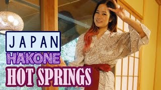 Japanese Hotsprings Onsen | Fancy Japanese dinner | KimDao in JAPAN