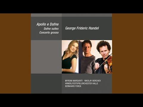 Apollo e Dafne, HWV 122 (Dramatic Cantata) : Deh, lascia addolcire - Duett (Dafne, Apollo)
