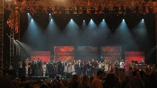 IMAGINE | All artists performing together at One World Concert (Carrier Dome, October 9, 2012)