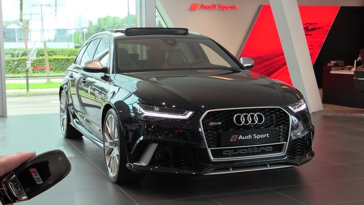 Inside The Audi Rs6 Performance 2017 In Depth Review Interior