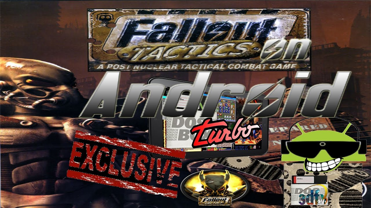 How to Play Fallout Tactics on Android with DosBox Turbo