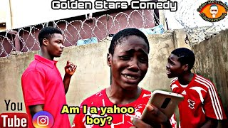 Am I a yahoo boy (Mark Angel Comedy) (Golden Stars Comedy) (Episode 211) Naira Marley x Zlatan