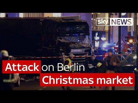 'Attack' on Berlin Christmas market