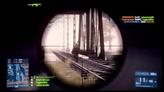Battlefield 3 - LET THIS GO - Sniper Montage (BF3 Online Multiplayer Gameplay)