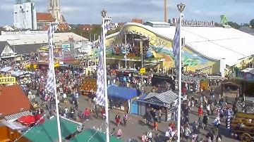 Oktoberfest: Mitschnitte der Wiesn Live-Webcam - Wirtsbudenstraße