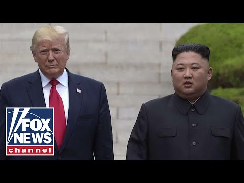 President Trump says North Korea has 'tremendous potential'