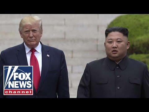 President Trump says North Korea has 'tremendous potential'