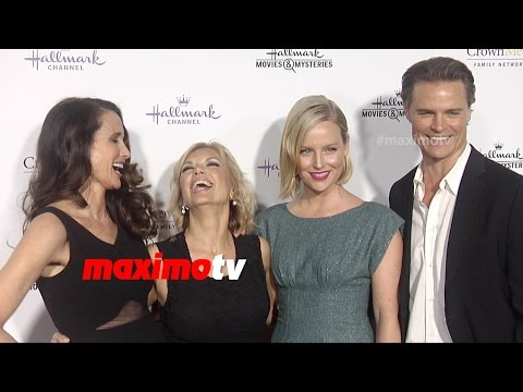 Andie MacDowell, Sarah Smyth, Teryl Rothery, Dylan Neal  Hallmark TCA Winter 2015  Cedar Cove