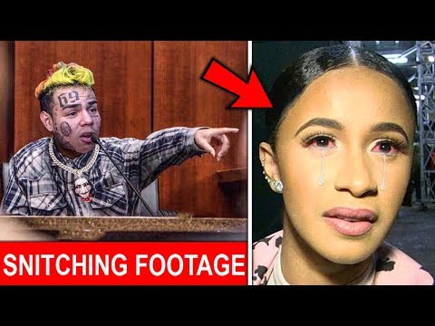 This Is Why 6ix9ine Snitched On Cardi B Trippie Redd & Jim Jones  FOOTAGE