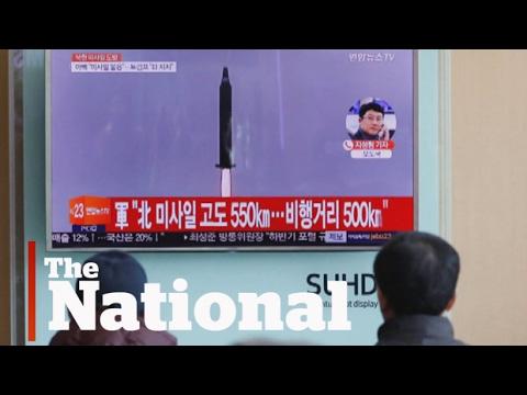 North Korean missile tests Trump