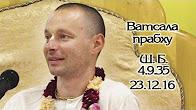 Шримад Бхагаватам 4.9.35 - Ватсала прабху