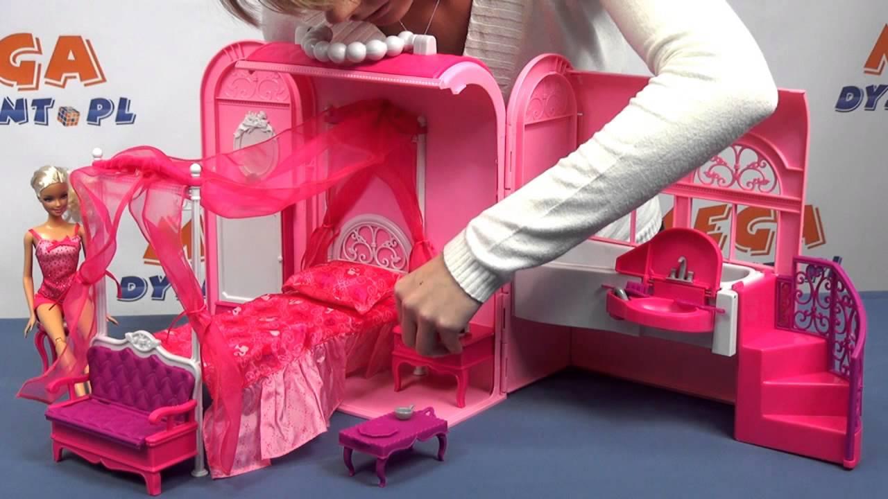 6fdc7a5e1ec94 Rozkładany szkolny domek Barbie - www.MegaDyskont.pl - sklep z zabawkami -  YouTube