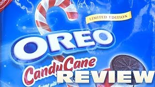 Candy Cane Oreo Cookie Review - Oreo Oration