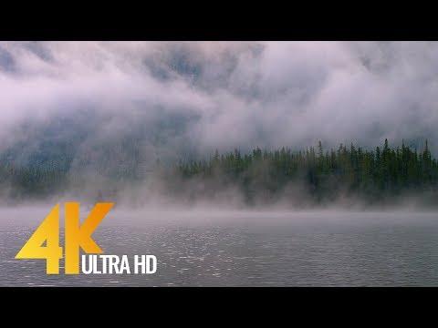 4K Fog On The Lake - Snow Lakes, Enchantments Area, USA - Nature Scenery - Trailer