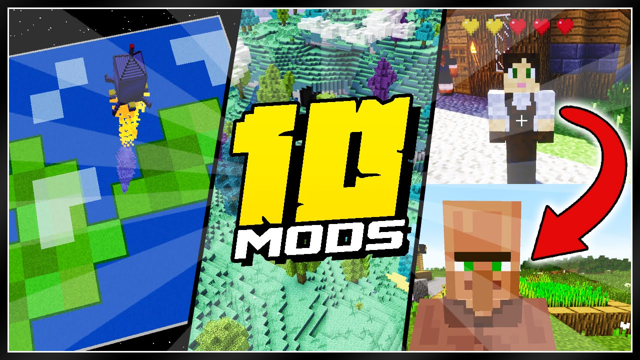 10 Minecraft Mods That Changed EVERYTHING!