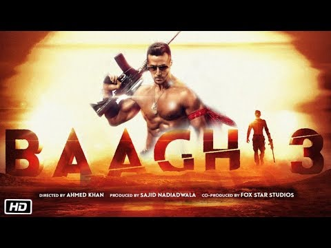 Baaghi 3 Movie | Big Announcement and Release Date | Tiger Shroff First Look