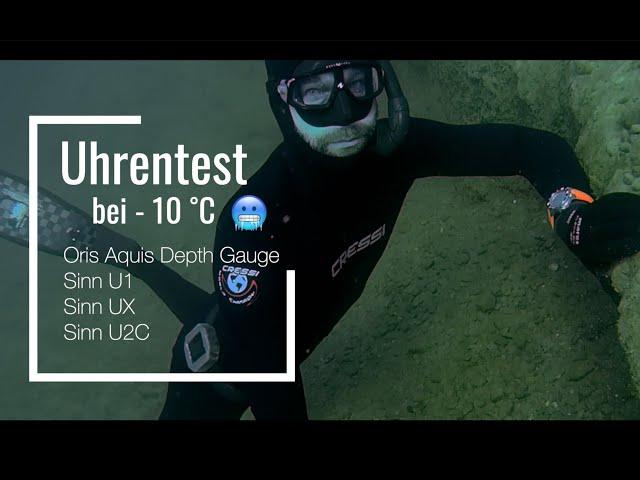 Oris Aquis Depth Gauge & Sinn U-Serie: Taucheruhren im Extremtest