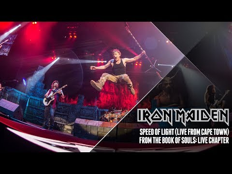 Iron Maiden - Speed Of Light (from The Book Of Souls: Live Chapter)
