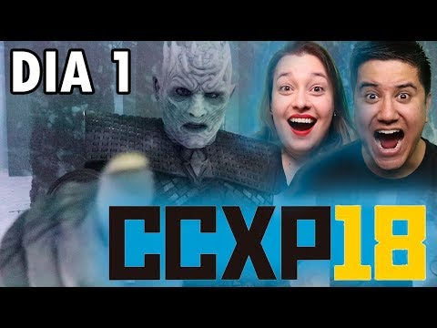 CCXP 2018 (dia 1) + Game of Thrones Experience Mp3