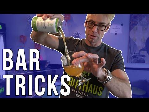 TOP AMAZING Bar Tricks YOU CAN DO!!!