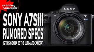 Sony Alpha A7SIII Rumoured Specs and Official Announcement Date