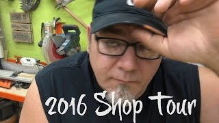2016 Shop Tour(My first real shop tour and my last. Well, my last for this shop anyway. We are getting ready to move and wanted to do a shop tour before that happens. subscribe ..., 2016-04-26T00:20:37.000Z)