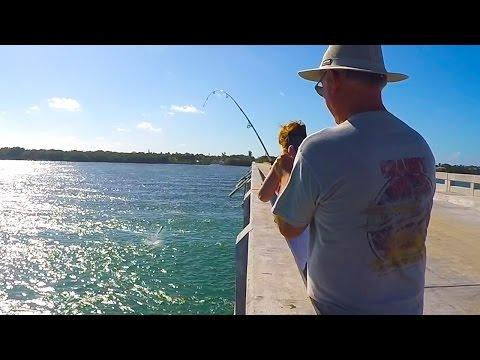 Key West Bridge Fishing - Episode #3 - Fact Or Fishermans Tale.