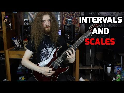 Intervals and Scales - Music Theory Basics for Guitarists