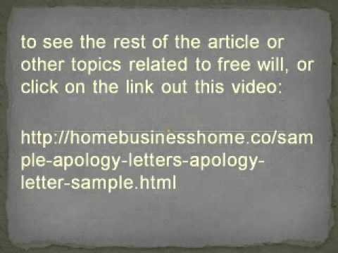 Sample apology letters apology letter sample youtube sample apology letters apology letter sample altavistaventures Choice Image