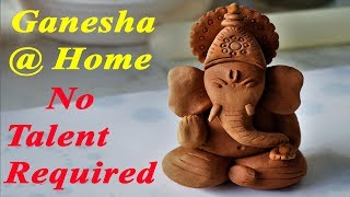 Clay Ganpati | Eco-friendly Ganesha | By Neetu Suresh