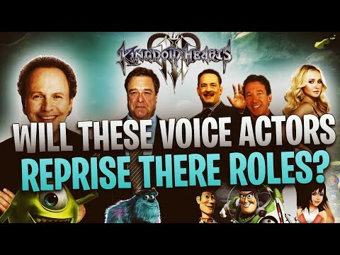 Kingdom Hearts 3 - Will These Voice Actors Reprise Their Roles?