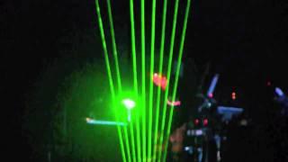 jean michel jarre london 02 10 10 10 rendez vous ii laser harp