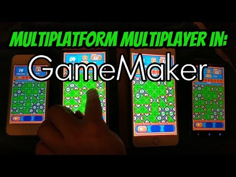 Multiplatform Multiplayer In GameMaker (TCP With Android And IOS)