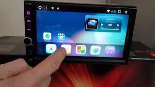 Новинка Магнітола Універсальна на Android 7.1. /wi-fi/GPS/BT/7''4ядра CARMEDIA KR-706