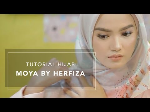 Tutorial Hijab Simple Moya by Herfiza