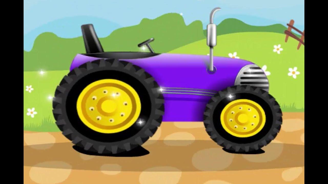 Trecker Trickfilm Deutsch Traktor Trecker Zeichentrick Youtube