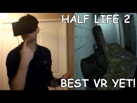 HALF LIFE 2 Oculus Rift Razer Hydra, Best VR experience YET!