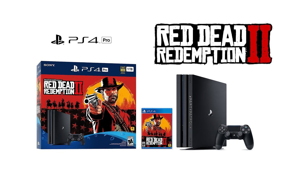 Ps4 Pro Playstation 4 Red Dead Redemption 2 Bundle Cuh 7216b Unboxing 4k Xpartypatrolx Youtube